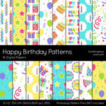 Happy Birthday Patterns