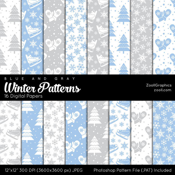 Winter Patterns by MysticEmma