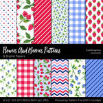 Flowers And Berries Patterns