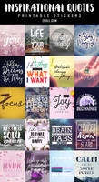 Inspirational Quotes Printable Stickers 3