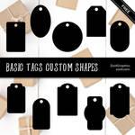 Basic Tags Custom Shapes