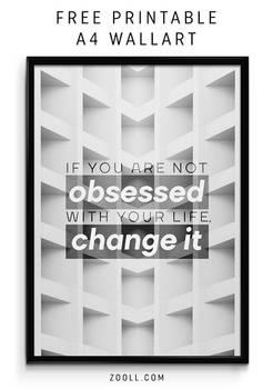 Obsessed A4 Print