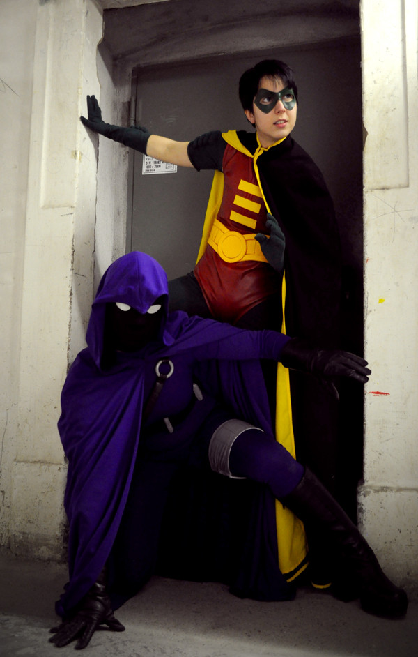 Detective Comics: The Spoiler and Robin by Aigue-Marine