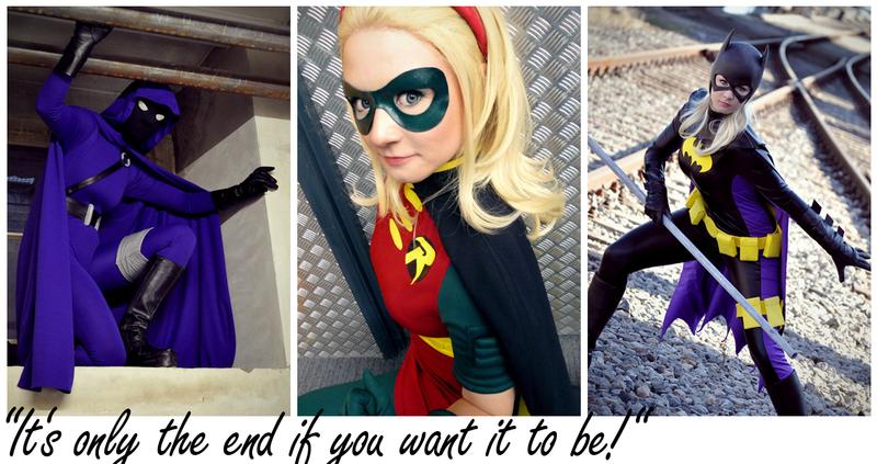 Stephanie Brown: Batgirl. Robin. Spoiler. by Aigue-Marine