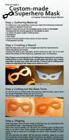 Tutorial: Custom-made Superhero Mask