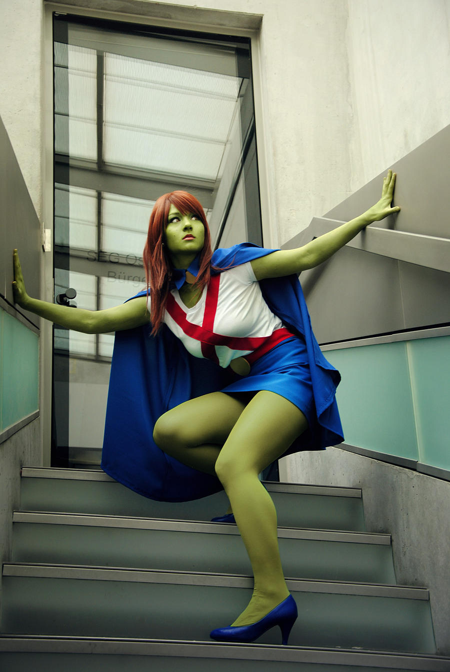 YJ: Miss Martian V by Aigue-Marine