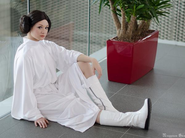 SW: Princess Leia Organa II by Aigue-Marine