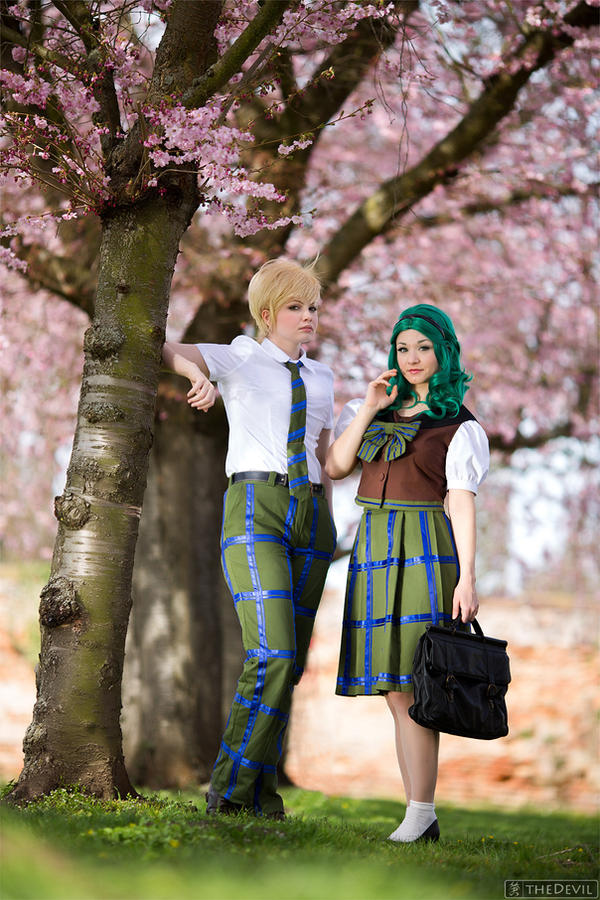 SM: Haruka and Michiru I by Aigue-Marine