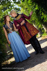 GoT: Margaery Tyrell and Joffrey Baratheon by Aigue-Marine