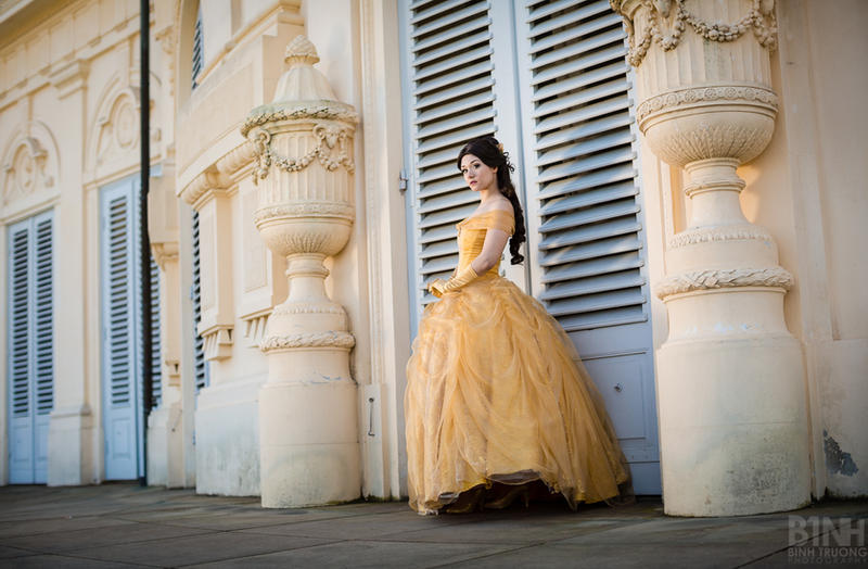 Disney: Belle Ballgown I by Aigue-Marine
