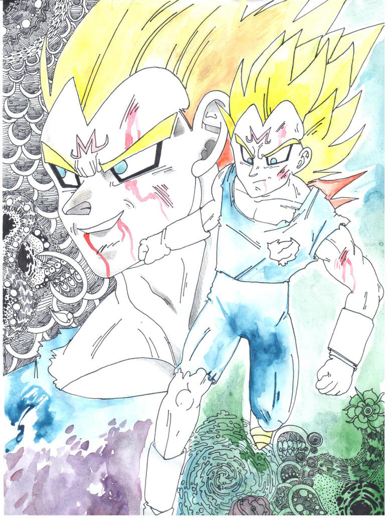 Vegeta appreciation by ShezzLuvsShadow