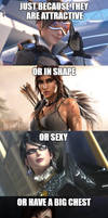 They are NOT sexist! by YU-GI-OMG