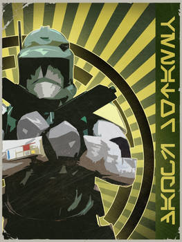Venator Squad Character Poster Doom