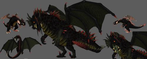 Spore Evil Incarnate vs real 3D Evil Incarnate by Evilution90