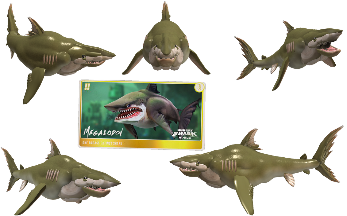 Spore Creature: Megalodon (Hungry Shark World) by Evilution90 on DeviantArt