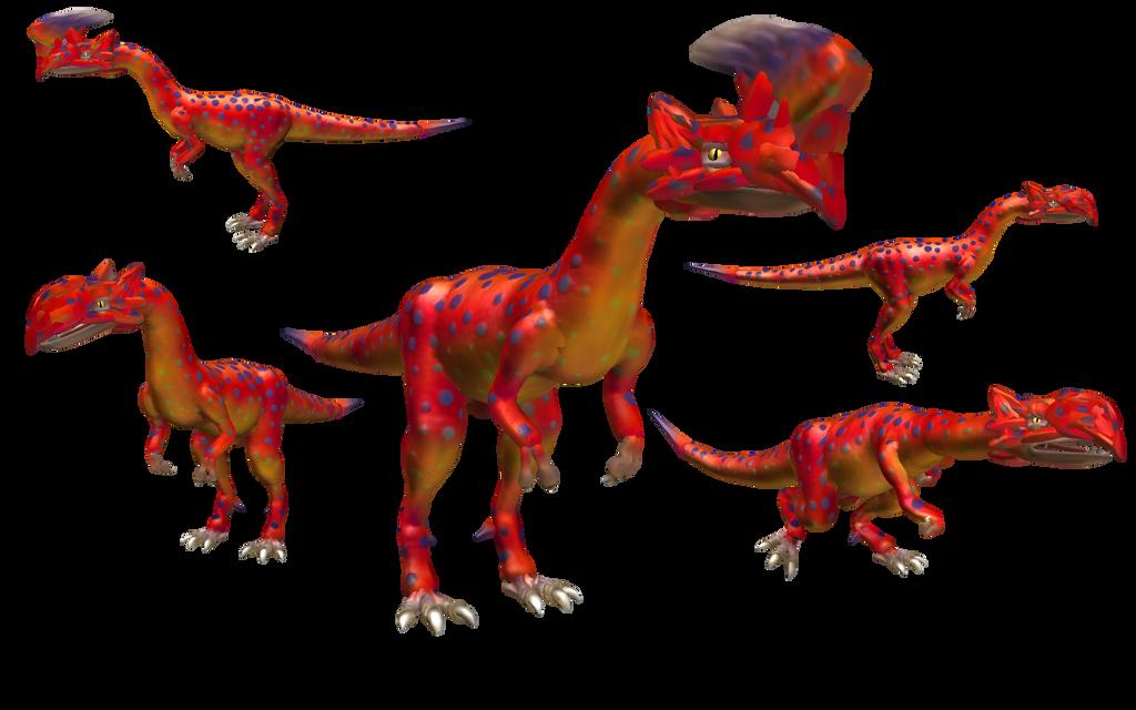 Spore creatures: Ioprey +Iodrome (Monster Hunter) by Evilution90