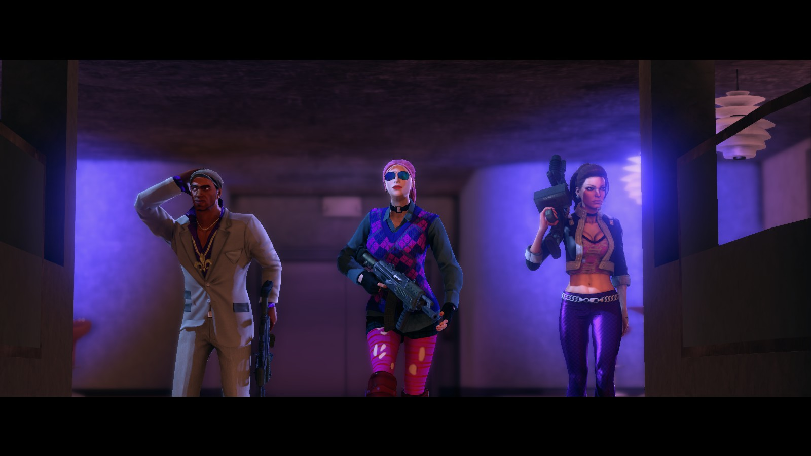 Saints row 3: naked female character nudes wives