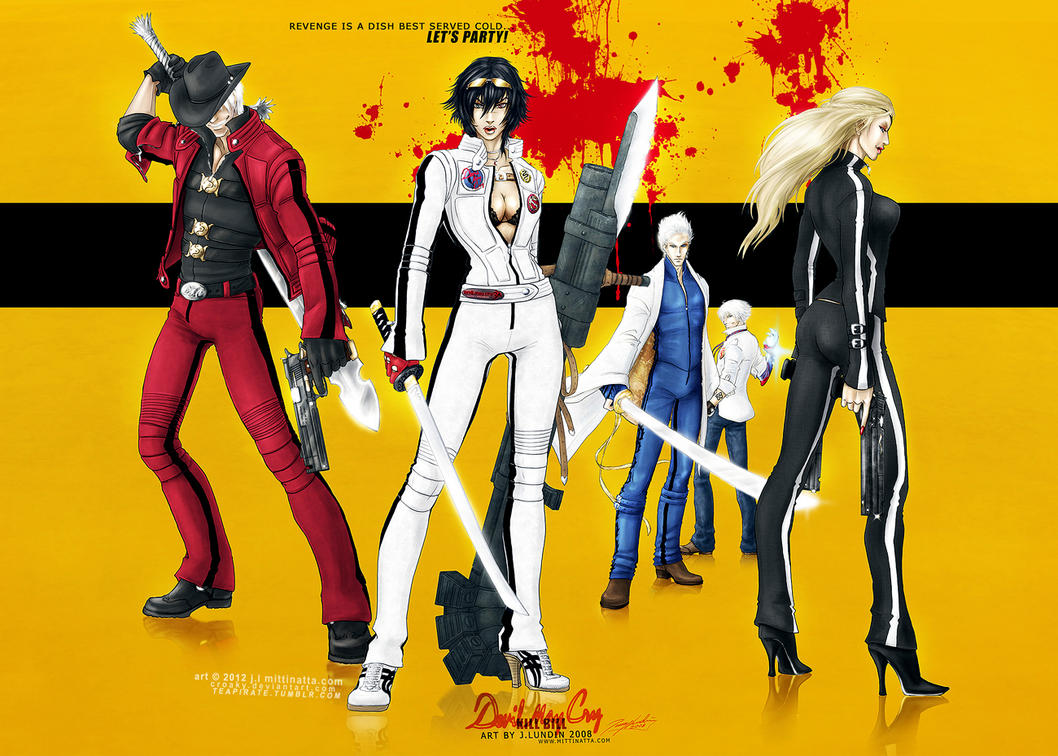 Devil May Cry: KILL BILL - Full Set by croaky