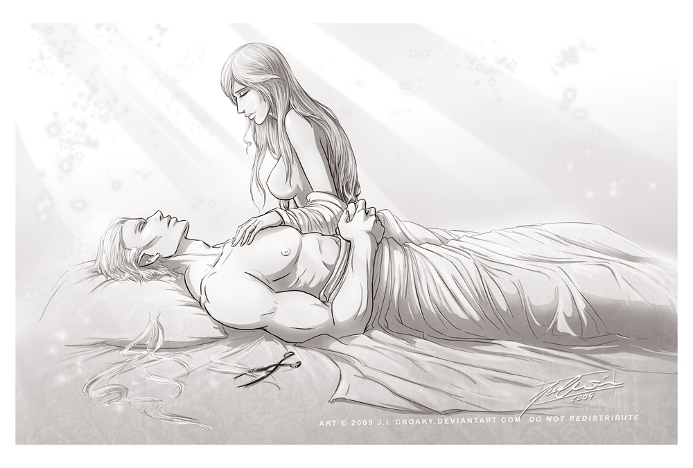 DMC Sparda and Eva - Samson by croaky