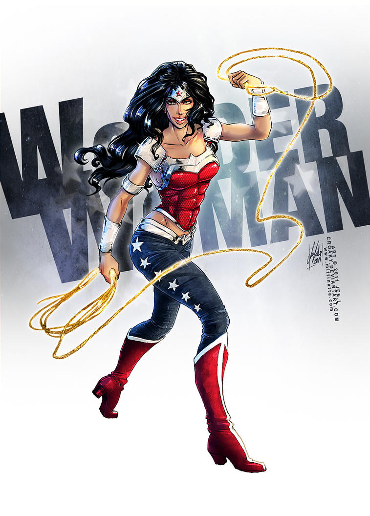 WONDER WOMAN by croaky