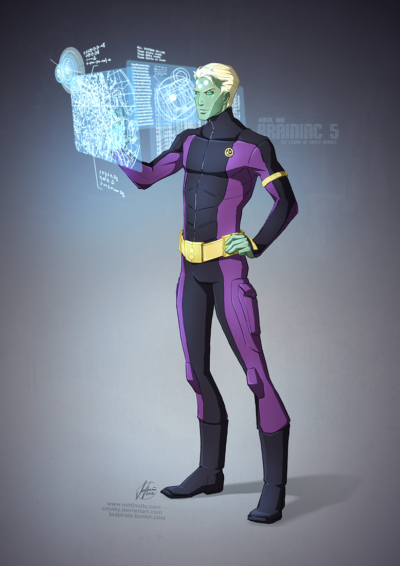 Querl Dox (Brainiac 5) by croaky