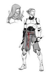 Jar'Kai Sith!Obi-Wan: Deserter Concept