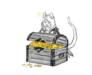 Kitty!Kenway Got The Loot