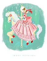 Mary Poppins Carousel by Chiara-Maria