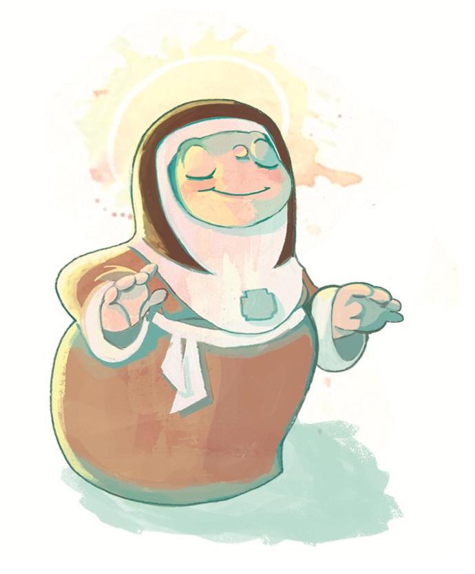 Little Nun by Chiara-Maria