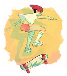 Skater Girl by Chiara-Maria