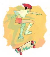 Skater Girl by Chiara-Maria
