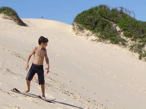 Sandboard Boy