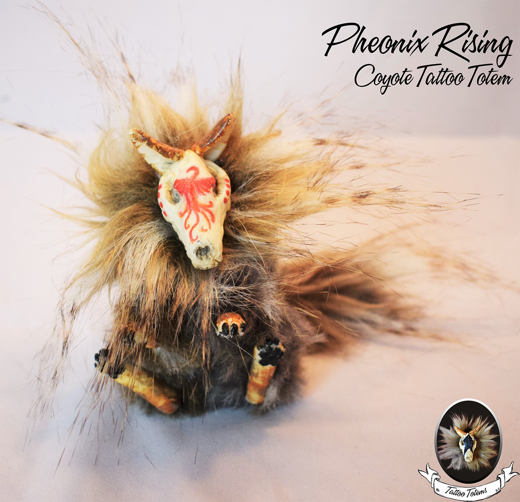 Pheonix rising tattoo totem for sale by killslay steelclaw for Tattoo stuff for sale