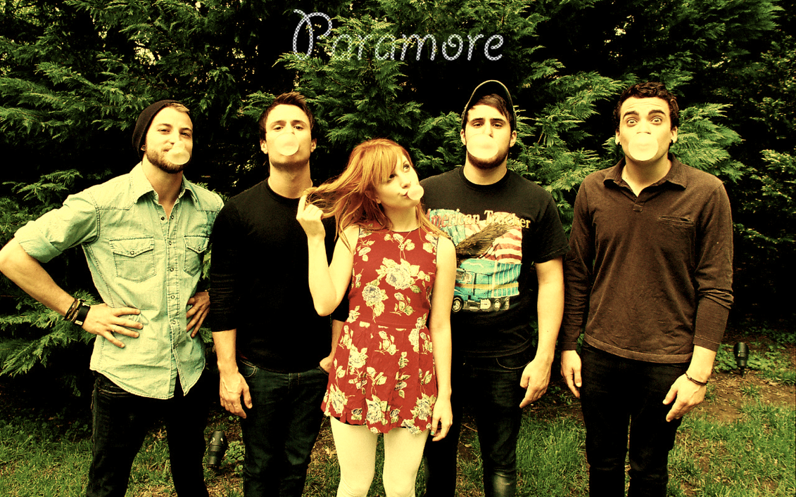 Paramore wallpaper by pixie-4 on DeviantArt Paramore Tour