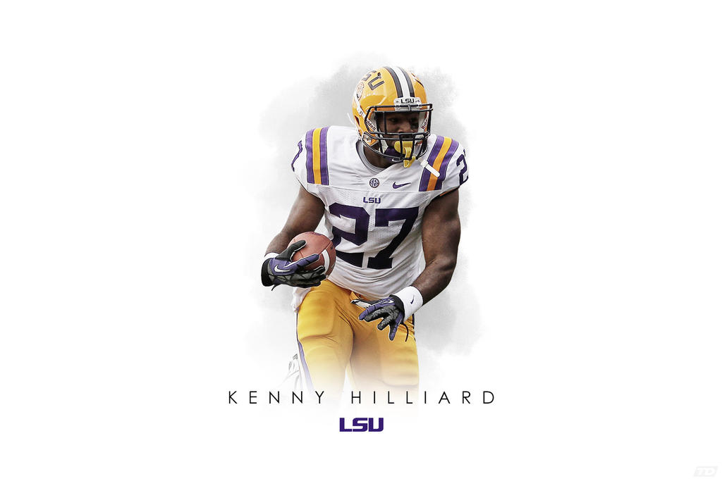 Kenny Hilliard LSU wallpaper by timdallinger