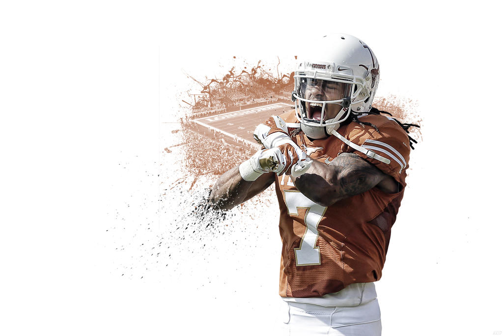 Marcus Johnson Longhorns Wallpaper by timdallinger