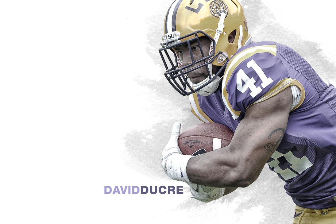 David Ducre LSU Wallpaper by timdallinger