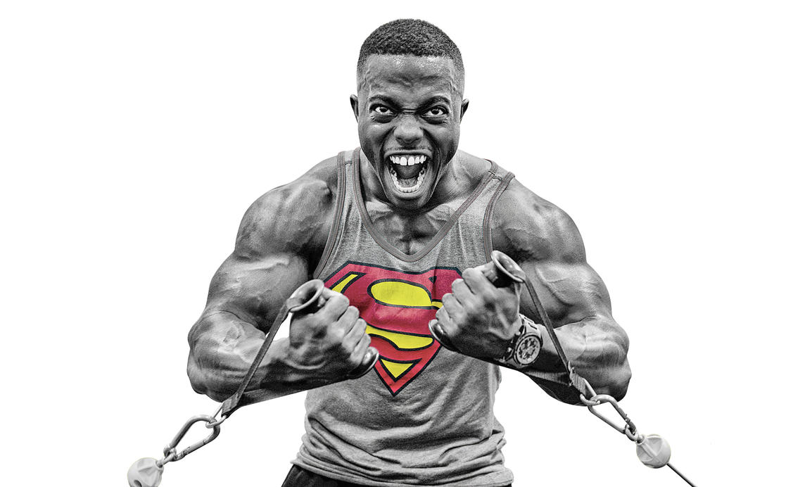 Terrence Ruffin Superman by timdallinger