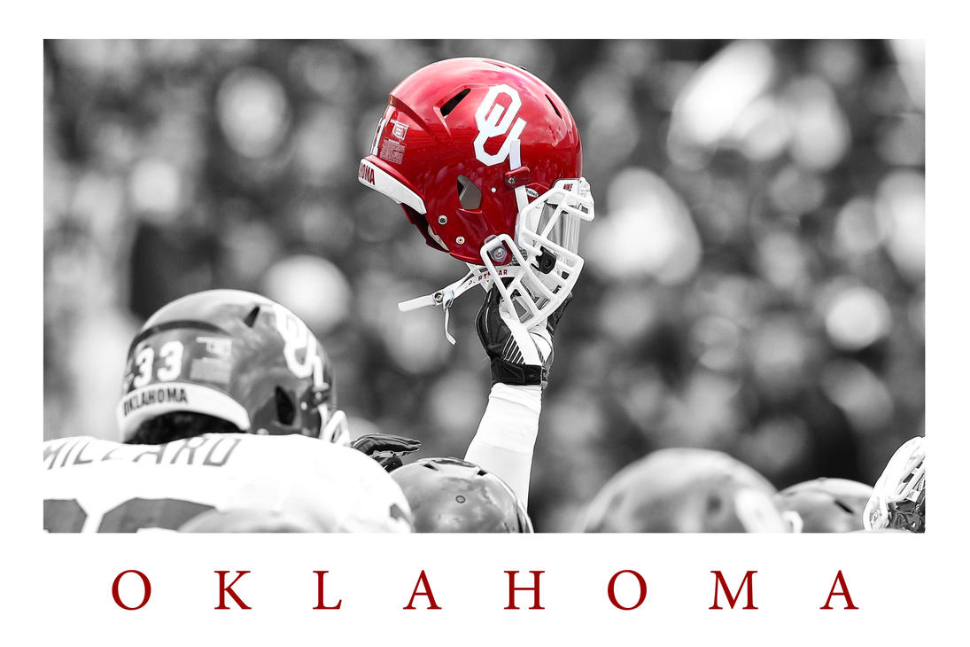 Oklahoma Sooners Football Helmet Wallpaper by timdallinger