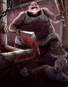 butcher vs shadowman concept