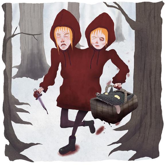 Red Riding Hoods by memoriesofnam