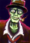 Stubbs the zombie speed paint