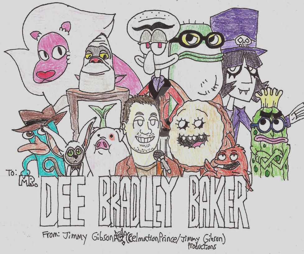 Dee Bradley Baker Tribute By Celmationprince On Deviantart