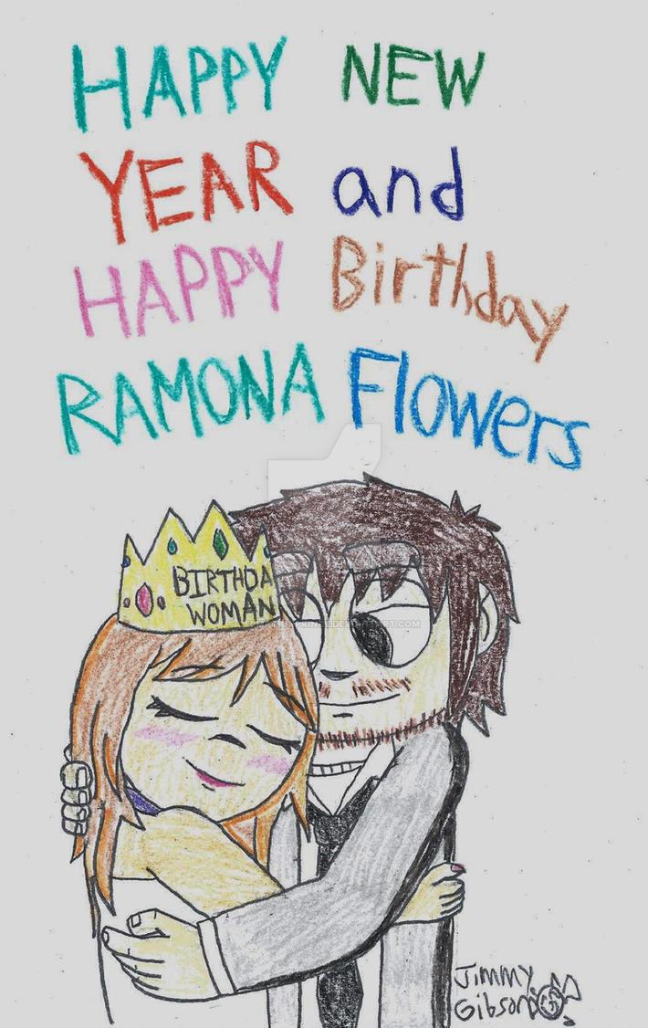 Happy Birthday Ramona Flowers By Celmationprince On Deviantart