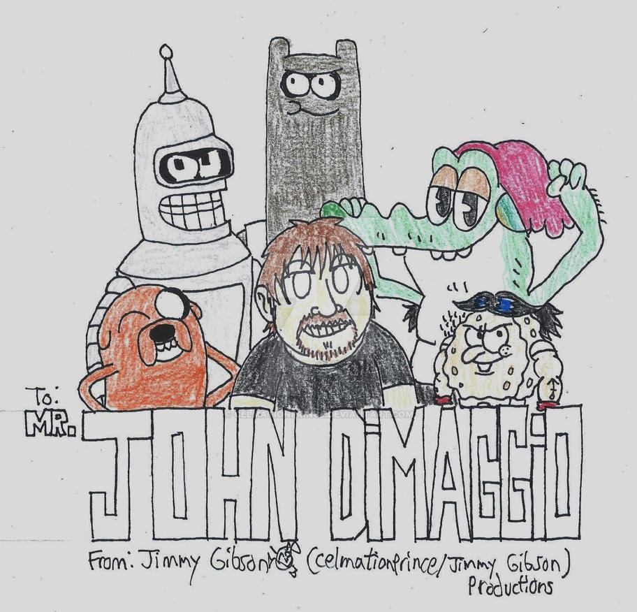 John Dimaggio Tribute By Celmationprince On Deviantart