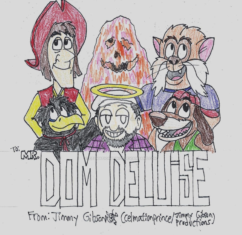 Dom Deluise Tribute By Celmationprince On Deviantart