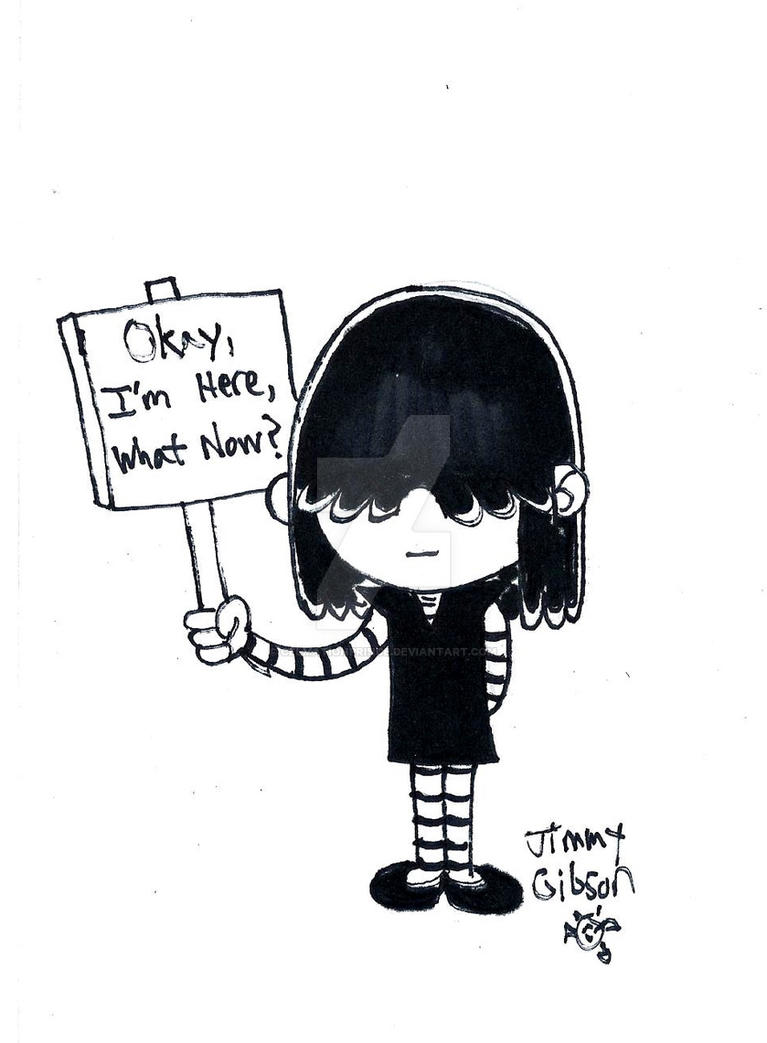 Inktober 27 Lucy Loud By Celmationprince On Deviantart