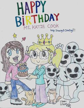 Happy Birthday Katie Cook!