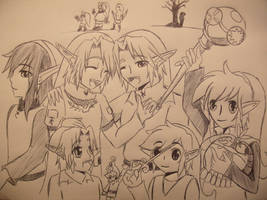 25th Aniversary of Pure Legend by girloveslink