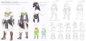 Final Fantasy XIV Melee DPS gear design